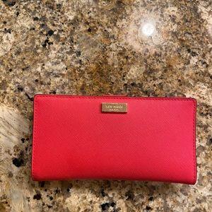 Kate Spade coral wallet